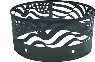 Heavy Duty American Flag Fire Ring 16