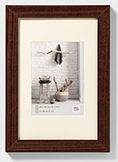 Walther Design HO824M Home Wooden Picture Frame, 7 x 9.50 inch (18 x 24 cm), Walnut