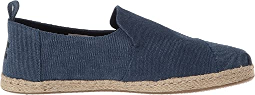 Navy Washed Canvas