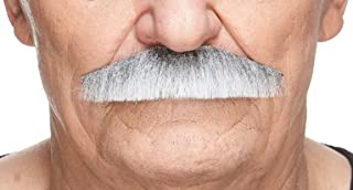 Fake Mustache, Self Adhesive, Novelty, PolicemanFalse Facial Hair, Costume Accessory for Adults