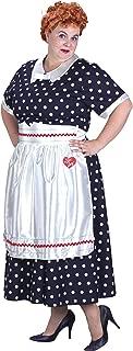 Lucy Poka Dot Dress Adult Costume - Plus Size 1X/2X
