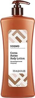 Amazon Brand - Solimo Cocoa Butter Body Lotion, 24.5 fl oz