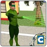 Green Ring Hero Crime Battle