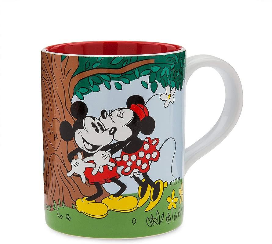Disney Mickey And Minnie Mouse Picnic Kiss Mug
