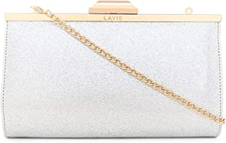 Lavie Ava Women's Clutch with No (Silver) (Numbers 1)