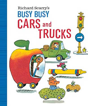 Richard Scarry's Busy Busy Cars and Trucks (Richard Scarry's BUSY BUSY Board Books)