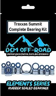 Traxxas 1/10 Summit Sealed Bearing kit Set (45 Bearings) - by DSM Off-Road