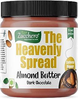 Zucchero The Heavenly Spread Dark Almond Butter by Zucchero