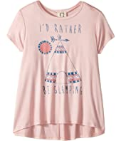 People's Project LA Kids - Glamping Knit Tee (Big Kids)