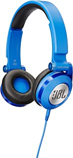 JBL E30 Blue High-Performance On-Ear Headphones with JBL Pure Bass and DJ-Pivot Ear Cup, Blue