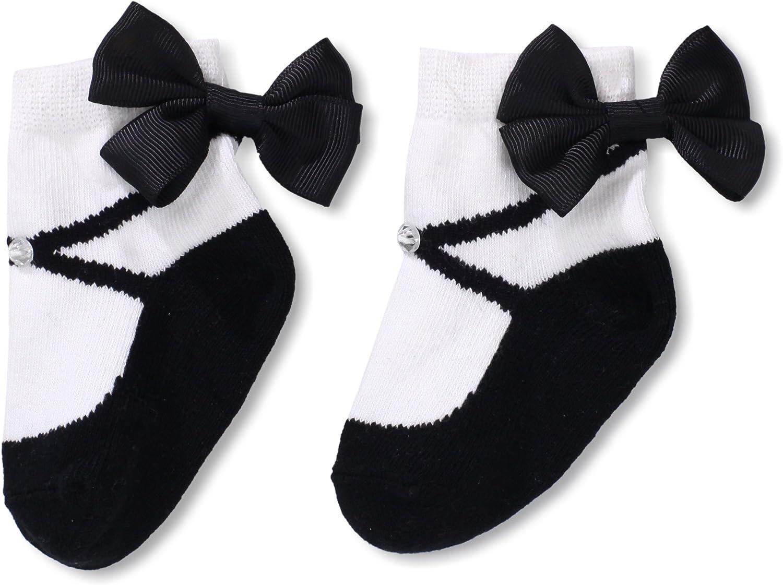 Mud Pie Baby-Girls Newborn Madison Sock