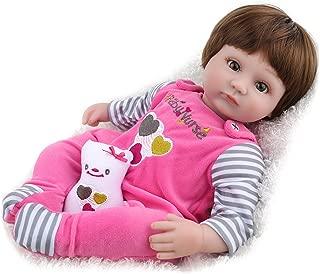 Kaydora Reborn Baby Doll Girl Handmade Huggable Baby Doll, 16 Inch Baby Doll,Snow Girl