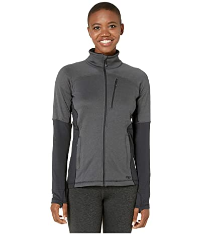 Outdoor Research Vigor Full Zip (Storm Heather) Women