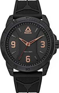 Reebok Casual Watch For Men Analog Silicone - RD-CAX-G2-SBIB-B3