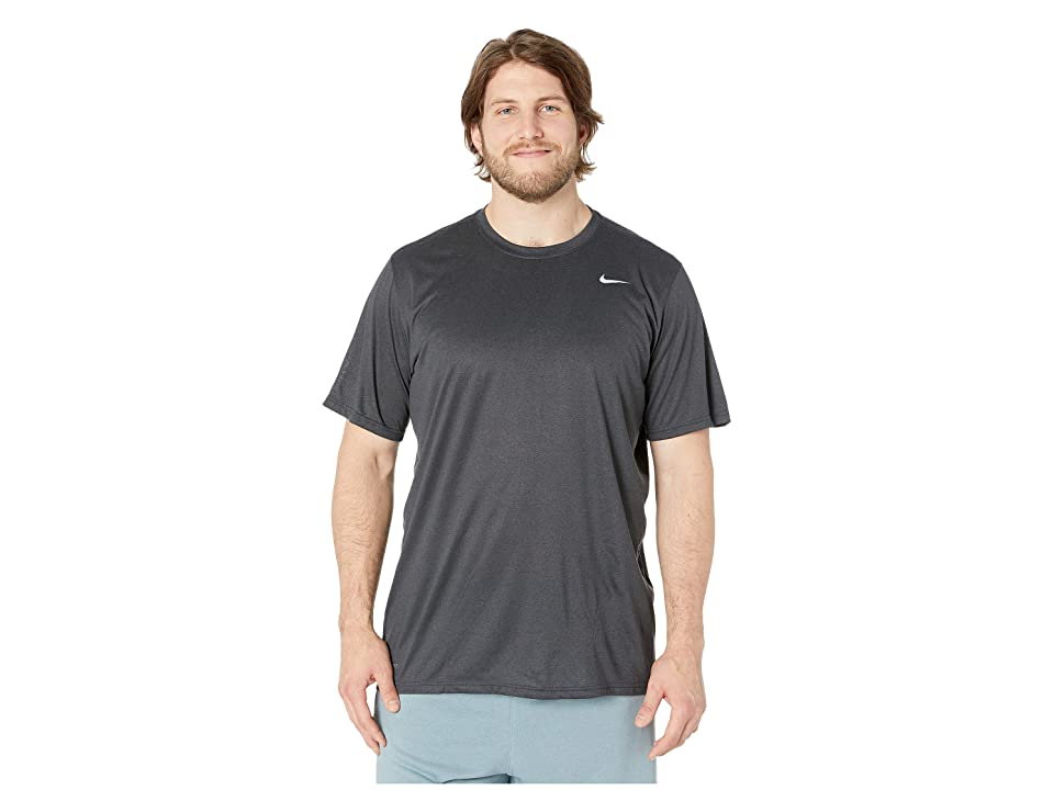 83213a756 Nike Big Tall Legend 2.0 Short Sleeve Tee (Anthracite/Black/Matte Silver)