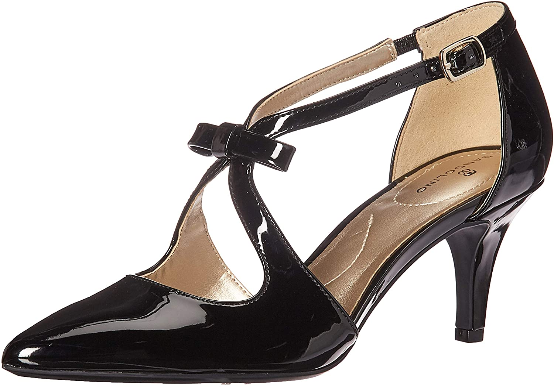 1950s Style Shoes   Heels, Flats, Boots Bandolino Womens Zeffer Pump  AT vintagedancer.com