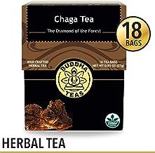 Chaga Tea – Powerful Antioxidants, Wild Harvested, Caffeine-Free – 18 Bleach-Free Te.