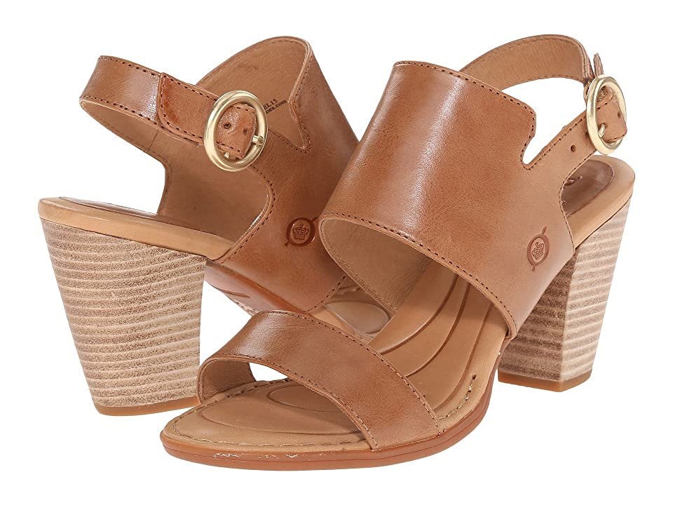 Born Cindie (Tan Full Grain Leather) Women