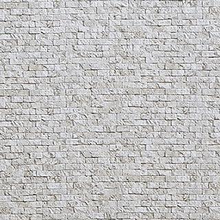 山善 壁紙 水で貼れる壁紙 簡単 53×34cm 10枚セット アンティークストーン YPW-S10(AS)