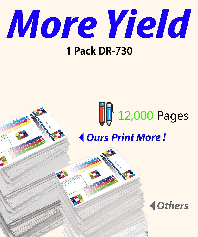 ColorPrint Compatible DR730 Drum Unit Replacement for DR-730 DR 730 Work with TN760 TN770 HL-L2350DW HL-L2395DW HL-L2390DW HL-L2370DWXL MFC-L2750DWXL L2710DW MFC-L2730DW L2550DW Printer (1-Pack)