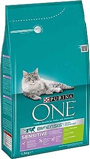 PURINA ONE BIFENSIS SENSITIVE Katzenfutter trocken, reich an Truthahn, 4er/6er Pack