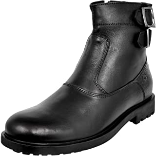 Allen Cooper ACCS-825 High Ankle Genuine Leather Boots for Men
