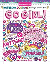 Notebook Doodles Go Girl!: Coloring & Activity Book (Design Originals) 30 Inspiring..