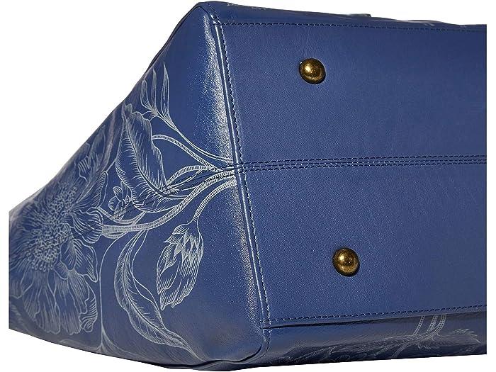 Anuschka Handbags Large Shoulder Tote - 664 Garden Of Delights