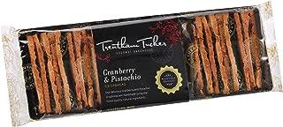 Trentham Tucker Cranberry and Pistachio Crispbread in Cello Pack, 150 g, Cranberry and Pistachio