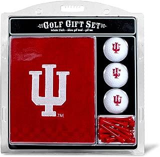 Team Golf NCAA Gift Set Embroidered Golf Towel, 3 Golf Balls, and 14 Golf Tees 2-3/4