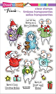STAMPENDOUS Clear Stamps STAMPND Felt MICE