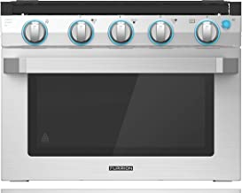 "Furrion 17"" 2-in-1 Gas Range Oven with 3-Burner Cooktop for RV, Camper, or Trailers. Includes multiple safety features wit..."