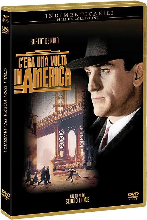 Dvd- film- c`era una volta in america B06WW4CYBJ