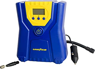 Goodyear Plastic Mini Tire Inflator, Small, Blue