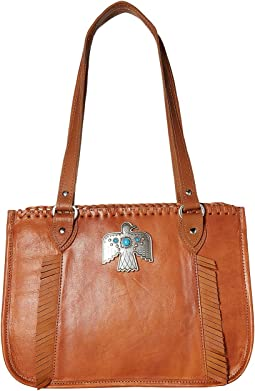 American West Thunderbird Ridge Multi-Compartment Zip Top Tote
