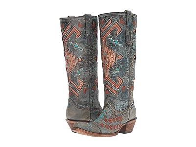 Corral Boots A3164 (Black/Multicolor) Women