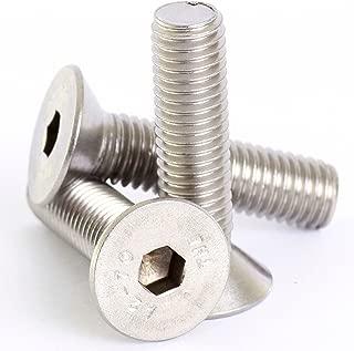 Bolt Base 6mm A2 Stainless Steel Countersunk Csk Hex Head Socket Screw Allen Bolts M6 X 12-6