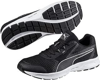 PUMA Men's Essential Runner, Black- Silver, Running Shoes