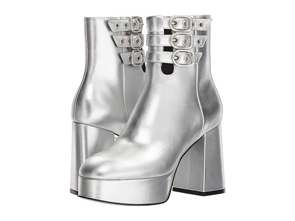 Opening Ceremony Joan Buckle Boot (Smoke) Women