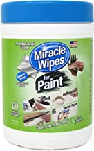 MiracleWipes for Paint Cleanup - All Purpose Cleaner, Brushes, Wet Paint, Caulking, Hands, Epoxy, Acrylic, DIY - Removes G...