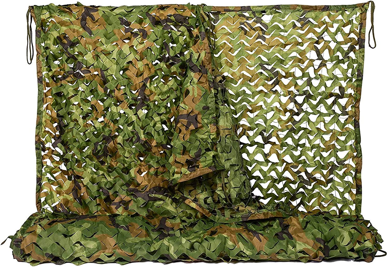 Lightweight Hidden Layer Leaf Camouflage Net Hunting camo net,10  20m