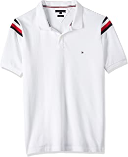 Tommy Hilfiger Men's Shoulder Gs Insert Slim Polo Polo