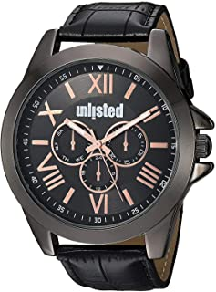 UNLISTED Kenneth Cole For Men Analog Genuine Leather