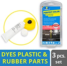 ATG Plastic Trim Restorer and Black Dye | Gives Rubber, Vinyl and Plastic New Life & Brings Back The Shine | Car Scratch Repair