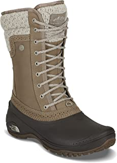 The North Face Women's Shellista II Mid - Split Rock Brown & Dove Grey - 7