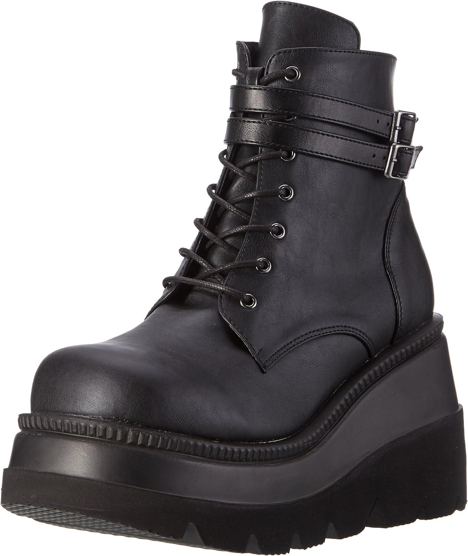 Demonia Womens Sha52 Bvl Boot