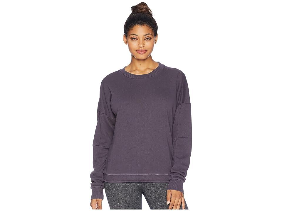 Reebok Training Essentials Crew Neck Sweatshirt (Smoky Volcano) Women