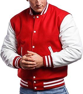 Varsity Base Letterman Jacket (10 Color Options) - S to 2XL