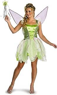 Disguise Women's Disney Fairies Tinker Bell Deluxe Costume