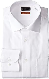 (ピーエスエフエー) P.S.FA クラシコモデル 形態安定 長袖 セミワイドカラーワイシャツ M151180076 01 ホワイト